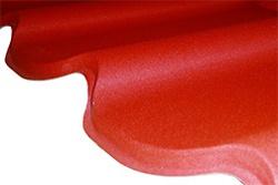 Velkoformátová profilovaná plechová střešní krytina