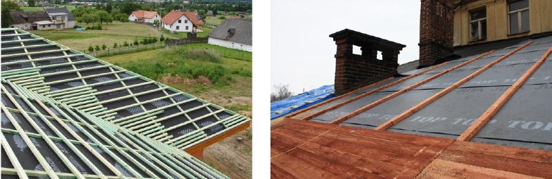 Montáž střechy - pravidla navrhování
