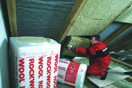 Tepelné izolace v podkroví