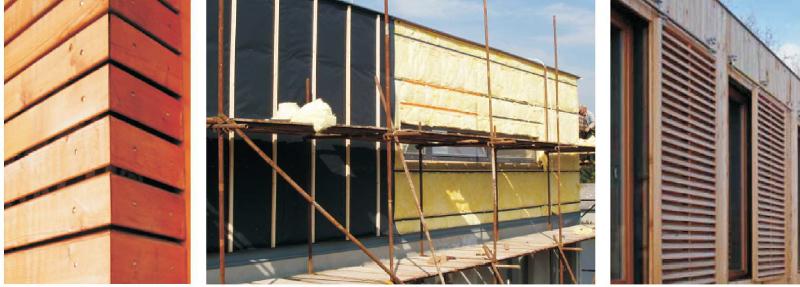 dispozice k větrozábranám u větraných fasád